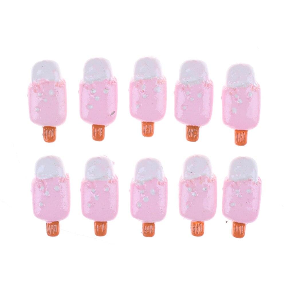 Kawaii Кукольный дом Декор 5 шт./лот сахар Декор мороженое эскимо картофельные чипсы Мини Кукольный дом еда для Барби хороший подарок
