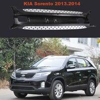 Sorento Running Boards Auto Side Step Bar Pedals For KIA Sorento 2013 2014 High Quality Brand