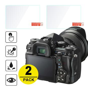 2x ochraniacz ekranu ze szkła hartowanego dla Pentax K1 K-1 Mark II KP K-S2 K-70 KS2 K70 K-3 K3 K-5 K-5IIs k-01 K-S1 Q10 645Z tanie i dobre opinie DEJ-2GSP-K1 To Fit K-1 Mark II NoEnName_Null Kamera