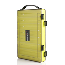 Portable Double Sided Fishing Tackle Boxes Multifunction 14 Compartments Lures  Container Box Gear Accessories