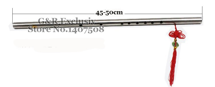 """Нержавеющая сталь китайская флейта """"Дизи"""" традиционный Профессиональный музыкальный инструмент в F ключ ручной Flauta де труб для начинающих"""