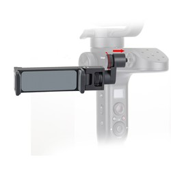 Free ship Zhiyun Weebill Lab Gimbal Phone clip Viewfinder for iphone huawei all Smartphone Tripod Mount Holder Bracket for Phone