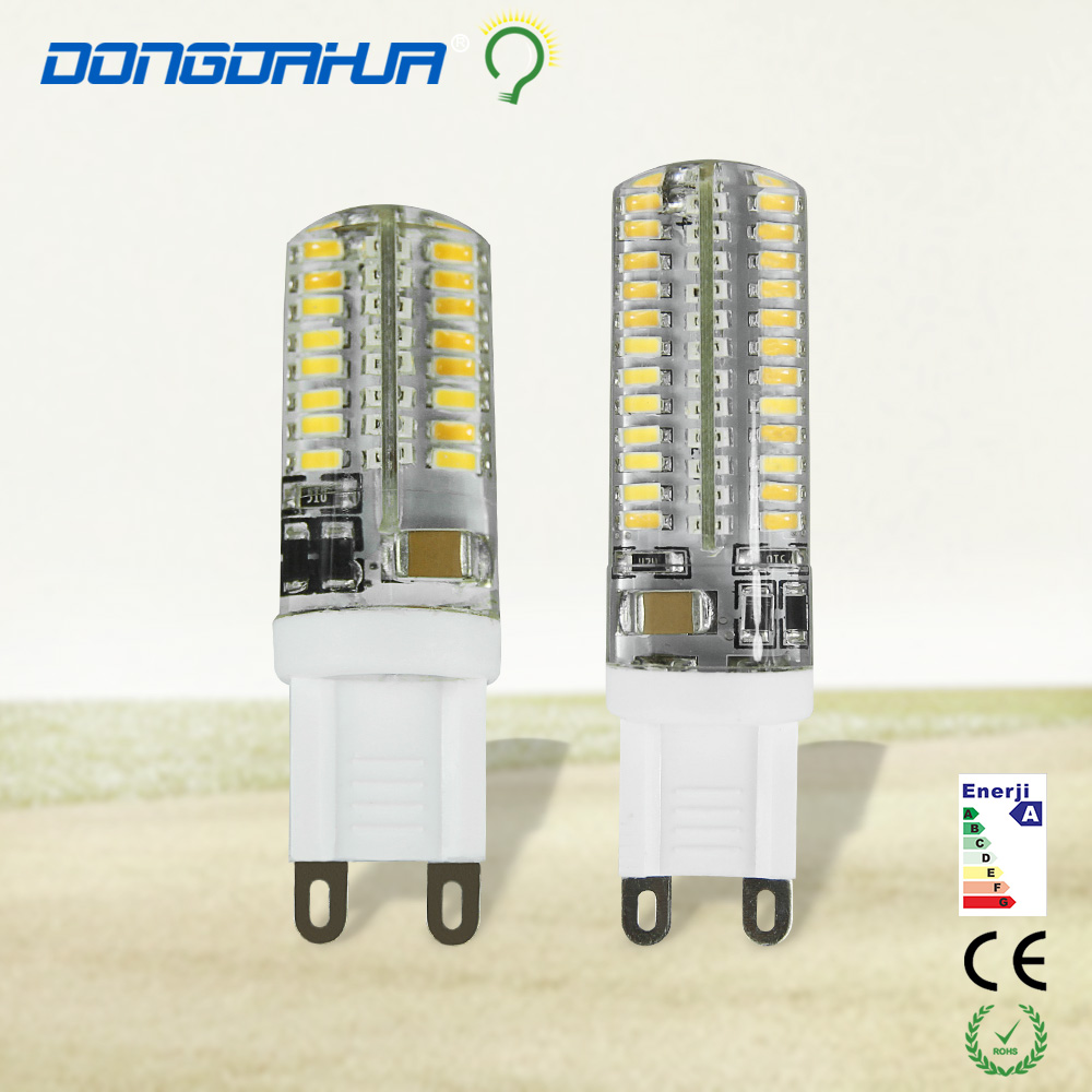 1 pz g9 led bulb 220 v 3 w, 5 w led lamp g9 3014 eec led light beam angle 360 degree led the reflector lamps to replace halogen
