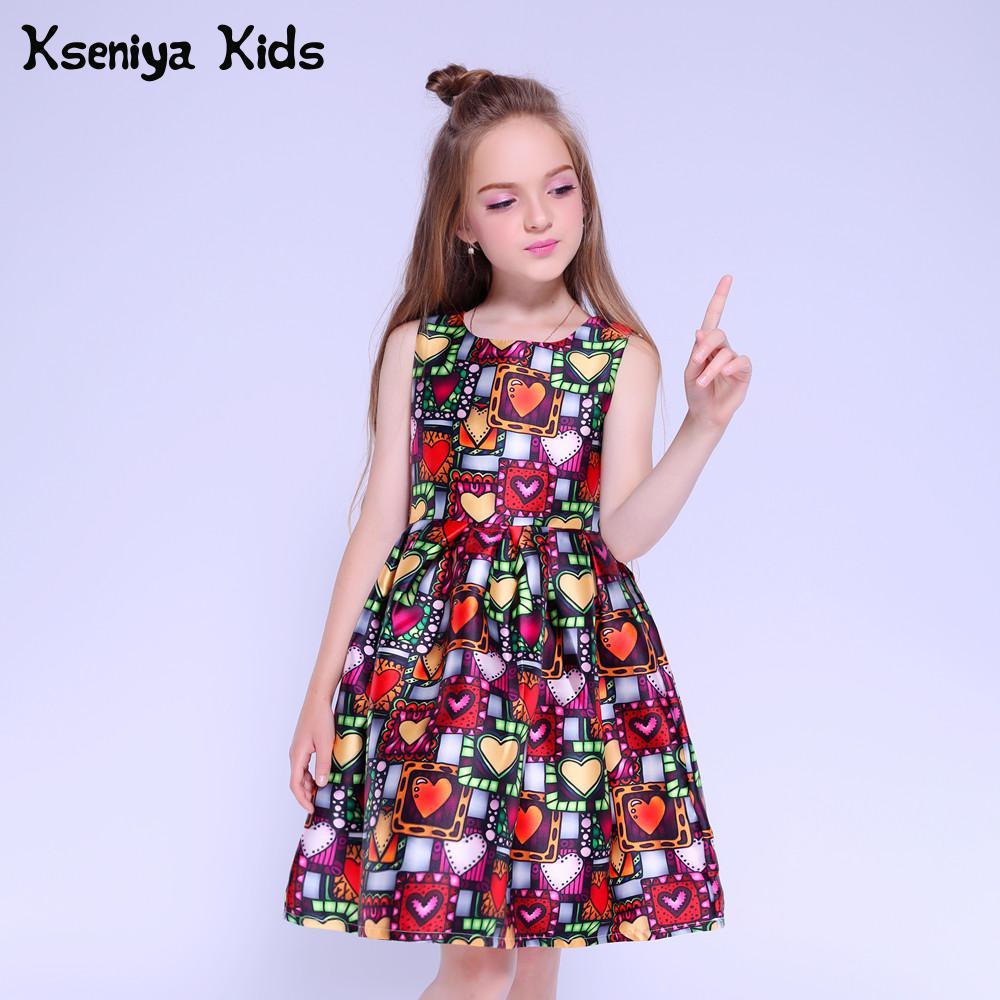 f90ad8603d Kseniya niños vestido princesa niña ropa marca bonitos niños vestidos de fiesta  para niñas 10 12 niñas vestidos 13 años en Vestidos de Mamá y bebé en ...