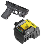 LASERSPEED Ultra Compact Laser Sights For Guns USB Rechargeable Laser Red Dot Green Sight Self Defence 5mw Aiming Laser