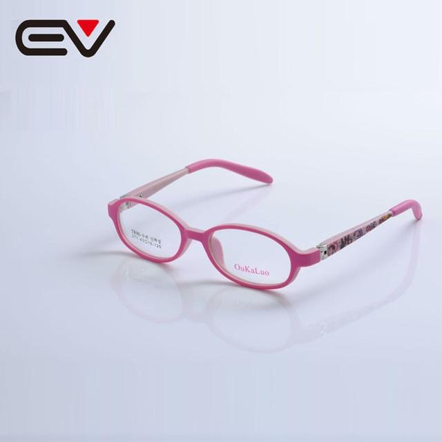 Eyeglass frame eyewear kids spectacle frame sport round tr90 eye ...