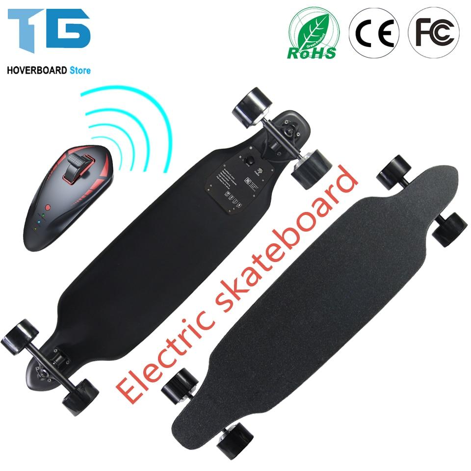 double drive electric longboard skateboard 36v 4ah 300w. Black Bedroom Furniture Sets. Home Design Ideas