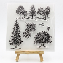 New Transparent Clear Silicone Stamps for DIY Scrapbooking/Card Making/Kids Christmas Fun Decoration Supplies 009