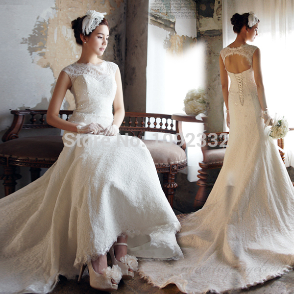 Online buy wholesale wedding dresses for large breasted for Wedding dresses for big busted women