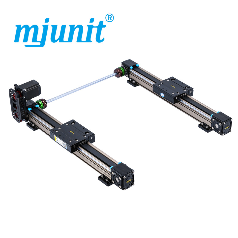 mjunit MJ50 linear motion guide rail, Low price linear guide rail with 2200mm stroke 2 rails