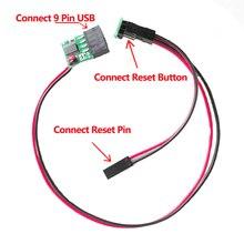 Mllse Внутренний USB сторожевой сброс контроллера часы собака PC stick-Crash/синий Экран автоматически перезапуска БТД горной/ игры