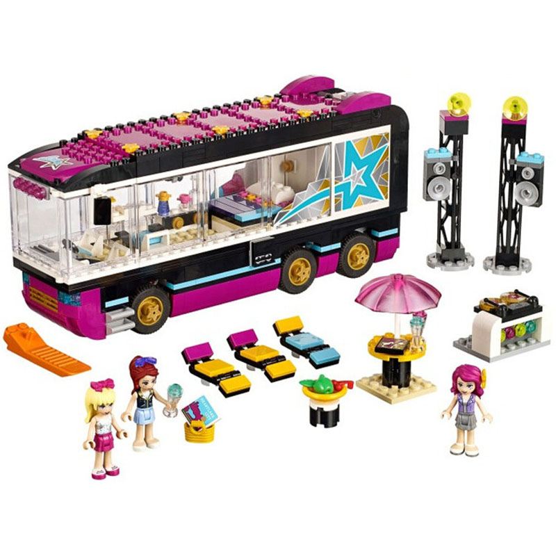Pogo Lepin BL10407 Girls Friends Building Blocks Bricks Toys Compatible Legoe lepin 75821 pogo bela 10505 birds piggy cars escape models building blocks bricks compatible legoe toys