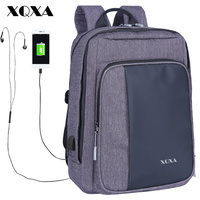 XQXA New Arrivals Men Backpack For 15 6 17 3 Inches Laptop Backpack Large Capacity Casual