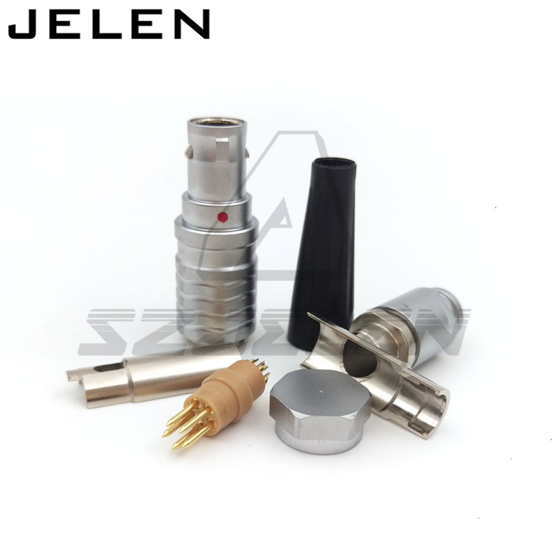 SZJELEN connector FHG.0B.305.CLAD, High quality metal circular plug 5pin szjelen connector egg 0b 309 cll fgg 0b 309 clad z 9pin connector cable connector male and female connector