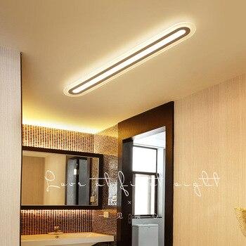 220V Bar light LED ceiling lamp simple modern Bedroom living room ultra thin acrylic ceiling lamp Ceiling Lights