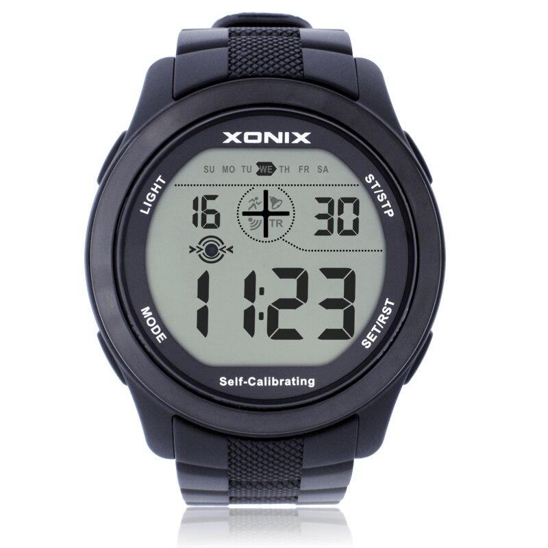Brand Self Calibrating Internet Women Sport Watches , 100M Waterproof Radio Wave Self Calibrating Digital Watch Montre Homme
