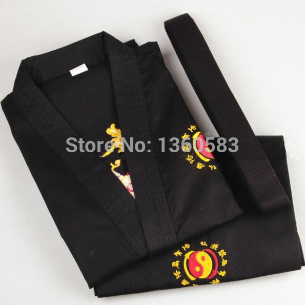 Классический джит кун до униформы черный JKD костюмы кунг-фу одежды боевых искусств наряды учебные одежда для взрослых детей