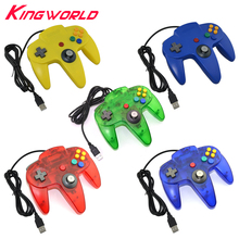 5 Color USB interface Game Controller for PC Gamepad Joystick Not compatible for N64 ( 64 style ) Computer controller