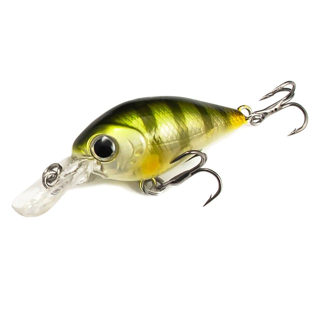 1 stück, kurbel Köder Kunststoff Hart Lockt 37mm, angeln Köder, Crankbait, wobbler, stecker, süßwasser Fische Locken