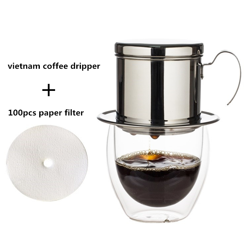100pcs per pack coffee maker replacement filters paper for aeropress JG