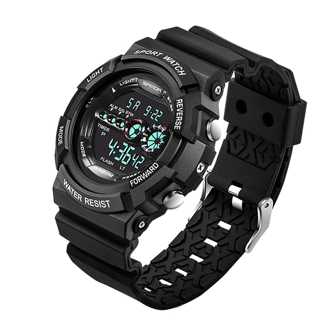 2016 relogio masculino New Brand Men Sport Watches G Casual Army Military Wristwatch digital Display Watch Shock proof Clock