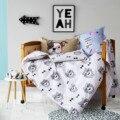 3 шт. набор для детская кроватка детская кроватка постельных принадлежностей детское постельное белье Мультфильм дизайн для девочек мальчики постельные принадлежности одеяло/пододеяльник наволочка лист