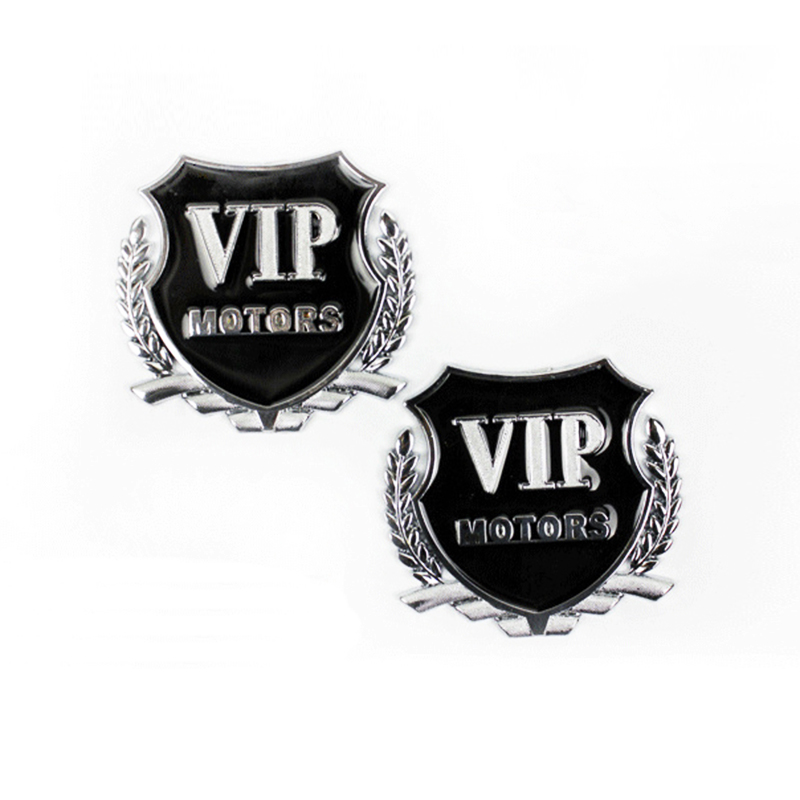 Car Styling VIP Car Metal Stickers For BMW Audi Opel VW KIA Hyundai Peugeot Ford Nissan Mazda Chevrolet Benz Accessories-in Car Stickers from Automobiles & Motorcycles