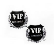 Car Styling VIP Car Metal Stickers For BMW Audi Opel VW KIA Hyundai Peugeot Ford Nissan Mazda Chevrolet Benz Accessories