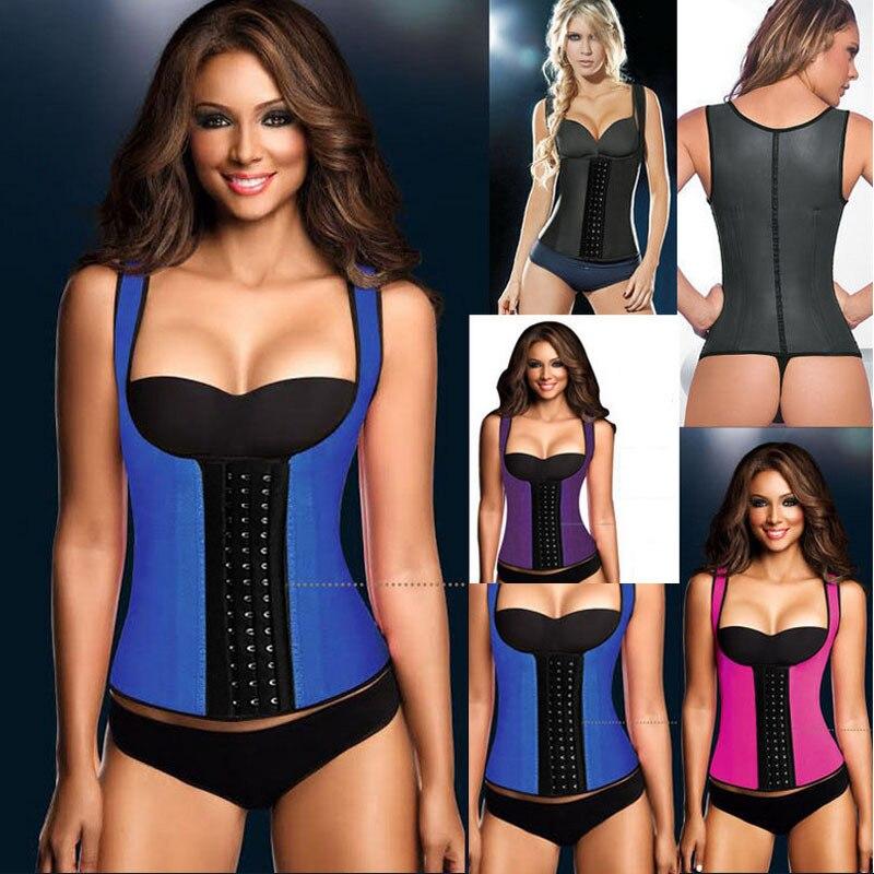 cd9cfcbe5a1 girdles body shapers for women latex waist cincher Rubber shapewear fitness  Corset gaine amincissante models bodies woman sheath-in Waist Cinchers from  ...