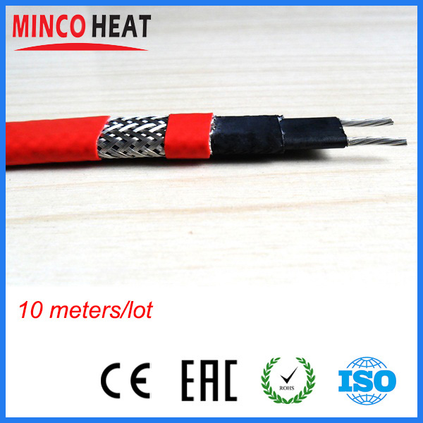 24 Volt Heat Trace Cable : V self regulating heat trace low voltage ptfe anti