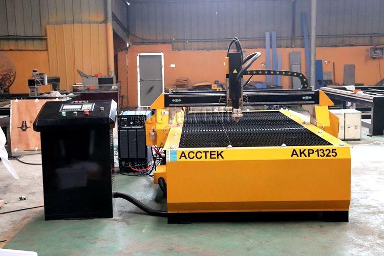 Découpeuse de plasma de CNC 1325 pour l'équipement d'acier inoxydable de coupe de plasma en métal/acctek avec 63A 100A 120A - 2