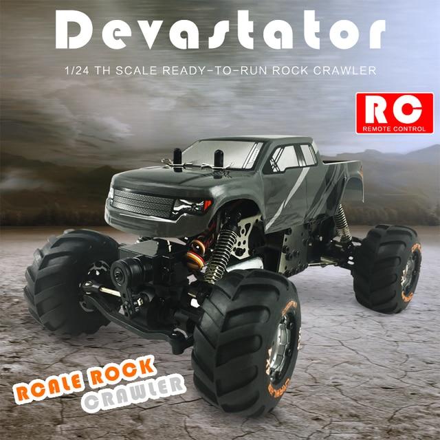 Alta Velocidade mini Carro de Brinquedo 1:24 2098B HBX 4 Wheel Drive carro 2.4G de Absorção de Estrutura de Metal Melhor Presente para As Crianças do carro do rc