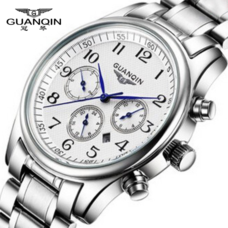 Top Brand Luxury Watch Men Waterproof Stainless Steel Casual Men's Quartz Clock Male Sports watch man hours fashion watches epozz brand new quartz watch for men big dial waterproof stainless steel watches classic casual top fashion luxury clock 1602