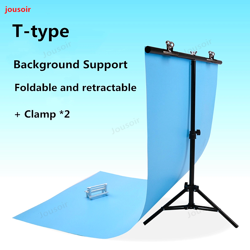 Consumer Electronics Knowledgeable Aluminum Alloy T-type Background Support Pvc Backgdrop Cloth Soft Light Paper Bracket Studio Shooting Table Bracket Cd50 T11 Camera & Photo Accessories