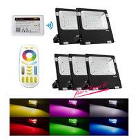 2.4G Milight 10 W 20 W 30 W RGB + CCT Wi-fi/4-Zone Controle Remoto Holofote LEVOU novo