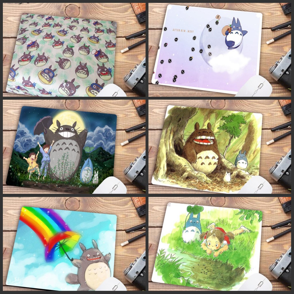 Mairuige Totoro Pad To Mouse Notbook Computer Christmas S Mousepad Gaming Padmouse Gamer To Keyboard Mouse Mats 18X22CM