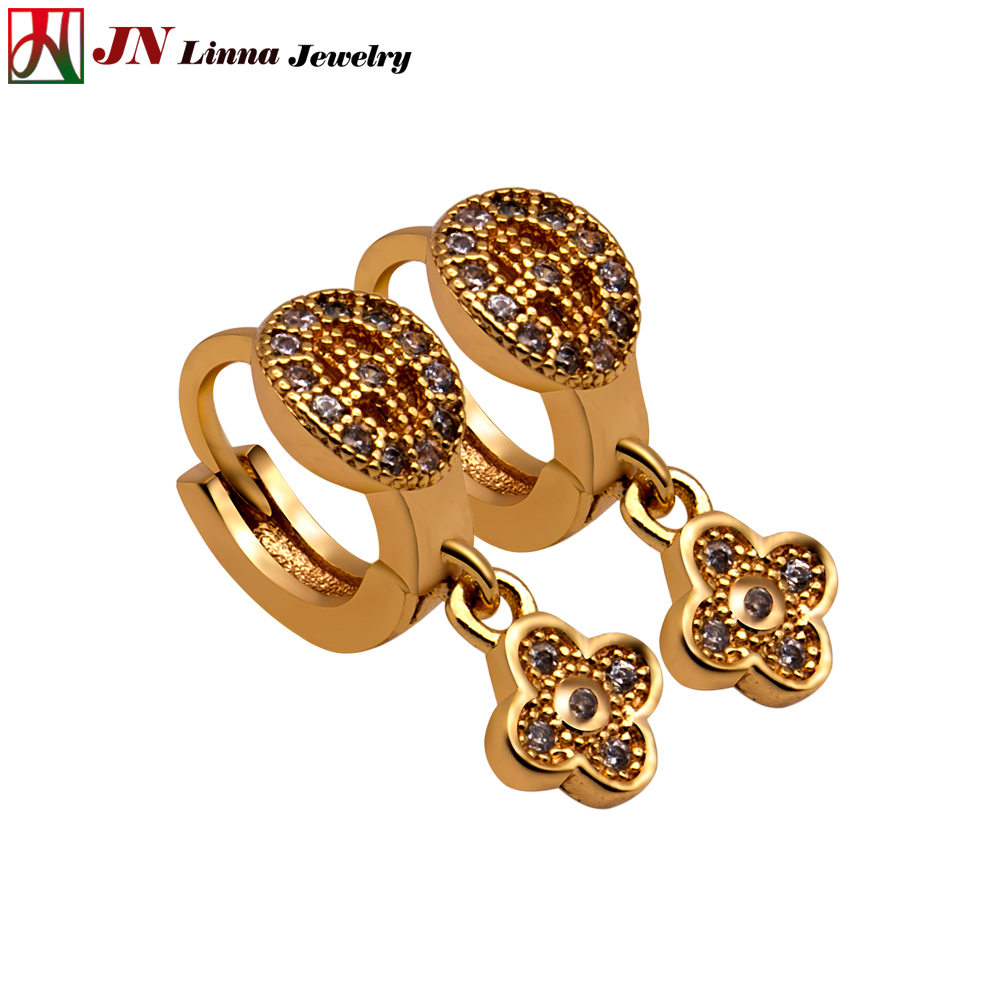 JN Southeast Asian style lady earrings High quality copper jewelry ...