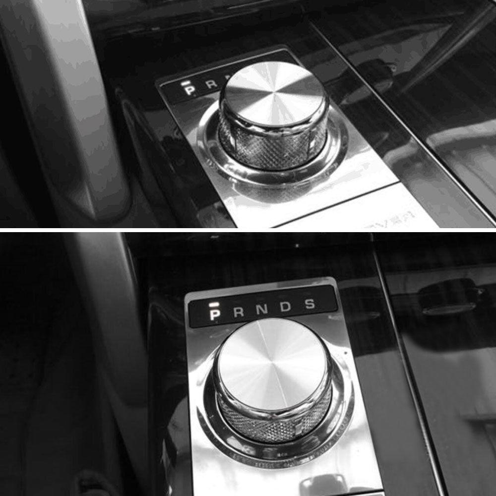 BARBEKÜ @ FUKA Araba vites Topuzu Anahtarı Düğmesi Gümüş Kapak - Araç Içi Aksesuarları - Fotoğraf 5