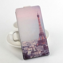 Leather Case with the Eiffel Tower for Lenovo
