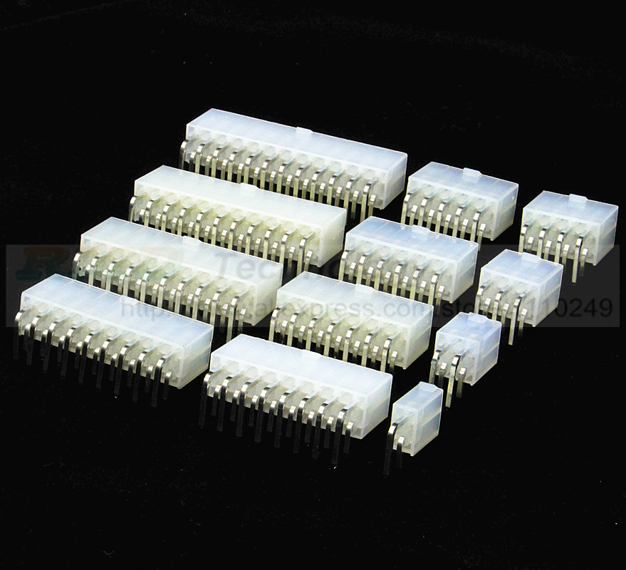 10pcs/lot 5569 For 5557 4.2mm Automotive wiring connector right angle female 4 - 12 pin for PC/computer graphics card on board 8905504848 automotive computer board