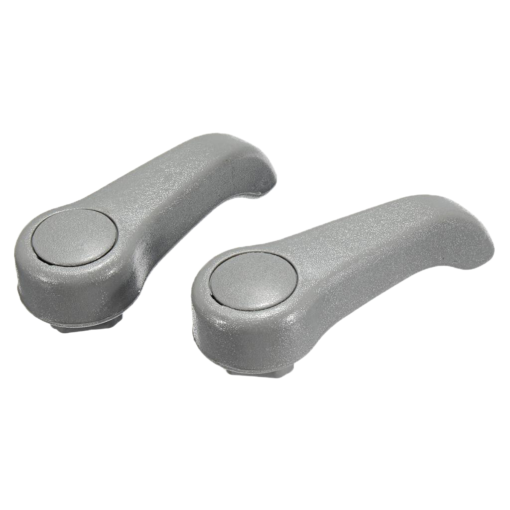 1 Pair Brand New Car Seat Adjuster Lever Handle Adjust Grey Automotive Accessories For Renault Clio MK2 Dropshipping