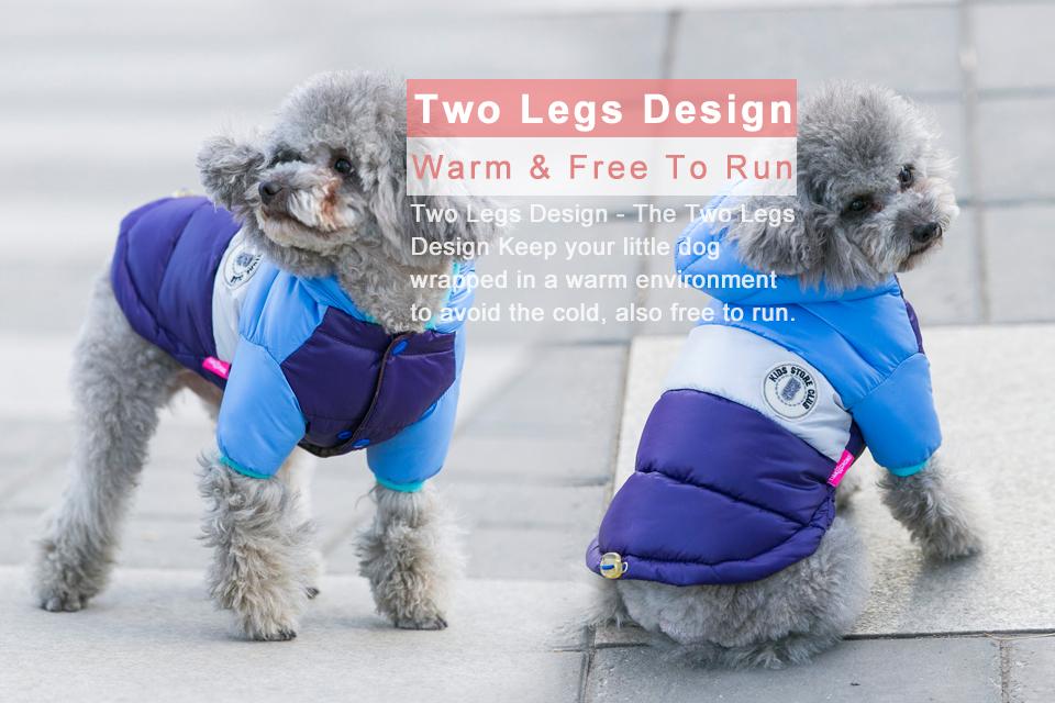 Nueva ropa de invierno para perros, abrigo impermeable con capucha 12