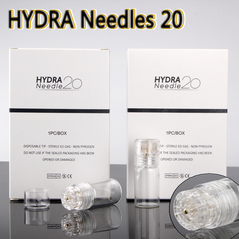 Hydra Needle 20 Gold Micro needles Automatic Tips Derma Roller with gel tube 6ml Skin Roller System derma stamp CE 0.25mm 0.5mm Hydra Needle 20 Gold Micro needles Automatic Tips Derma Roller with gel tube 6ml Skin Roller System derma stamp CE 0.25mm 0.5mm