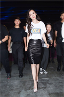 2018 Spring Women Fashion Mini Pencil Slim Sexy Skirts Skirt Black Leather Fashion Slim Luxury Ladies Elegant Sheath Skirts
