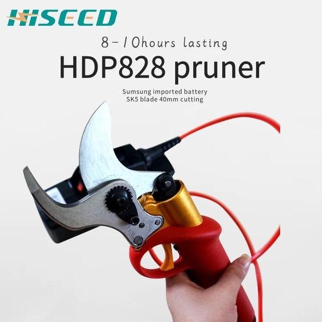 HDP828 40mm 전기 전정 가위, CE pruner (8 10 시간 지속)