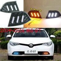Динамический светодиодный, 2014 ~ 2017 мг GT дневной свет, MG GT туман свет, автомобильные аксессуары, MG GT фар; MG3 MG5 MG6 MG7, GS, MG GT фар
