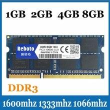 Brand new DDR31066/1333/1600 Mhz 2 GB/4 GB/8 GB de Memoria SODIMM memoria Ram para el Ordenador Portátil Notebook Garantía de Por Vida