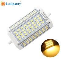 Lumiparty R7S свет 30 Вт 64Led лампа SMD5730 118 мм прожектор заменить галогенные двойной конец прожектор лампы