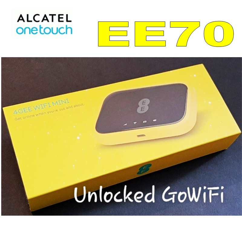 New Unlocked EE Mini 2 4G LTE Alcatel EE70VB Mobile WiFi Router Hotspot with SIM card