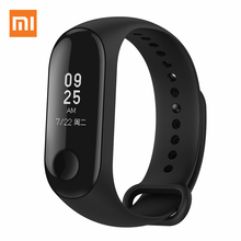 Original Xiaomi Mi Band 3 Miband 3 Instant Message Smart Band Watch Caller ID Waterproof OLED Touch Screen Heart Rate Monitor original xiaomi mi band 2 smart fitness bracelet watch wristband miband oled touchpad sleep monitor heart rate mi band2